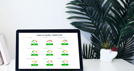 Real-time tracking of indoor air quality – A way to reduce sick-leave