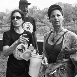 Eva, Dwayne & Debra making Pine Lake Fest happen!