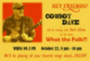 Cowboy Dave poster_What the Folk (2019).