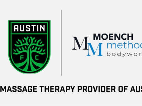 Moench Method Bodywork is now the Official Massage Therapy Provider of Austin FC