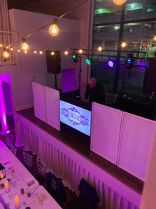 LED Display for a reception at Passalino's in Louisville, KY.