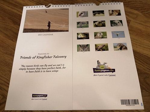 Kingfisher Falconry Calendar