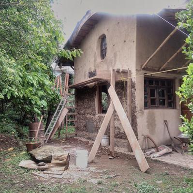 Construcción de la cabaña