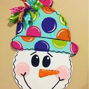 Snowman-Snow-Hat-Christmas-Winter-Door-H