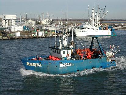 Fishing boat on Eastern Coast of US