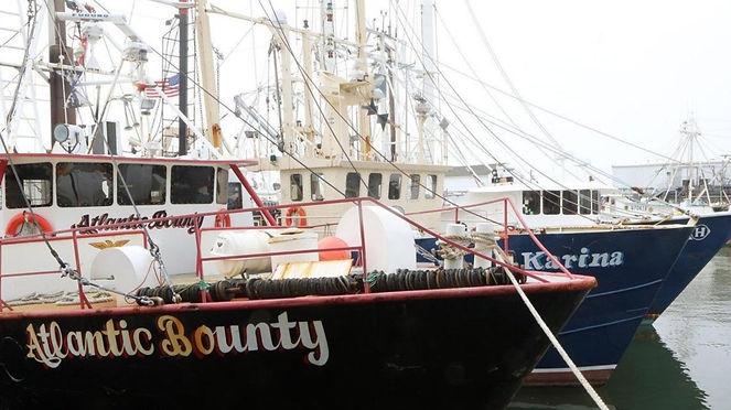 Atlantic Bounty fishing vessel at the dock.