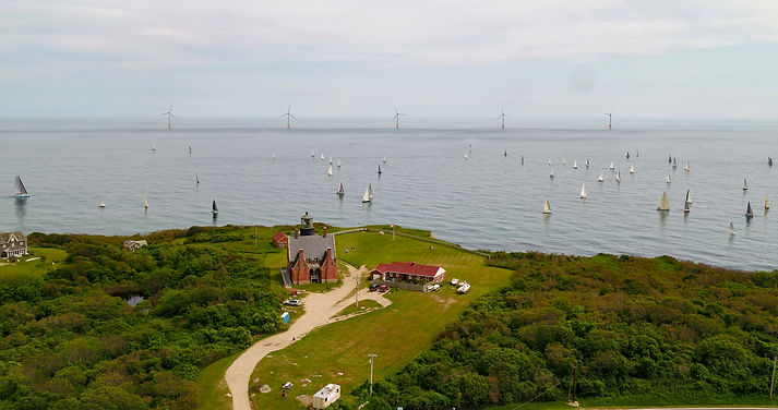 Block Island Wind Farm, View from the Island