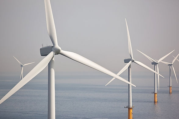 Offshore wind Turbine on East Coast of U.S.