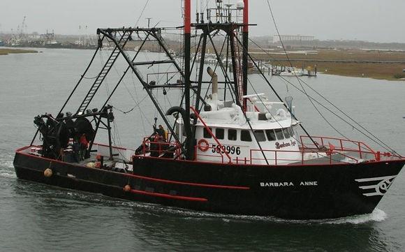 Fishing boat on East Coast of the U.S.