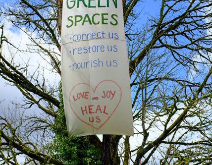 Gratitude To Our Greenway!