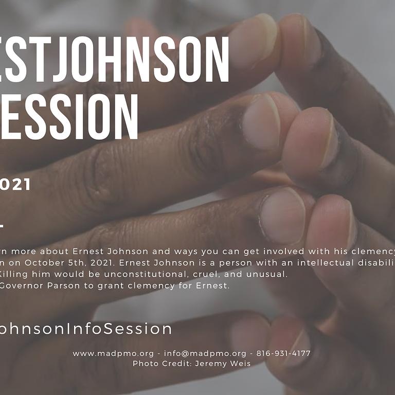 #ErnestJohnson Info Session