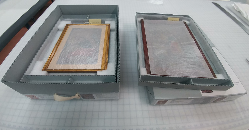 Custom Archival Storage Box