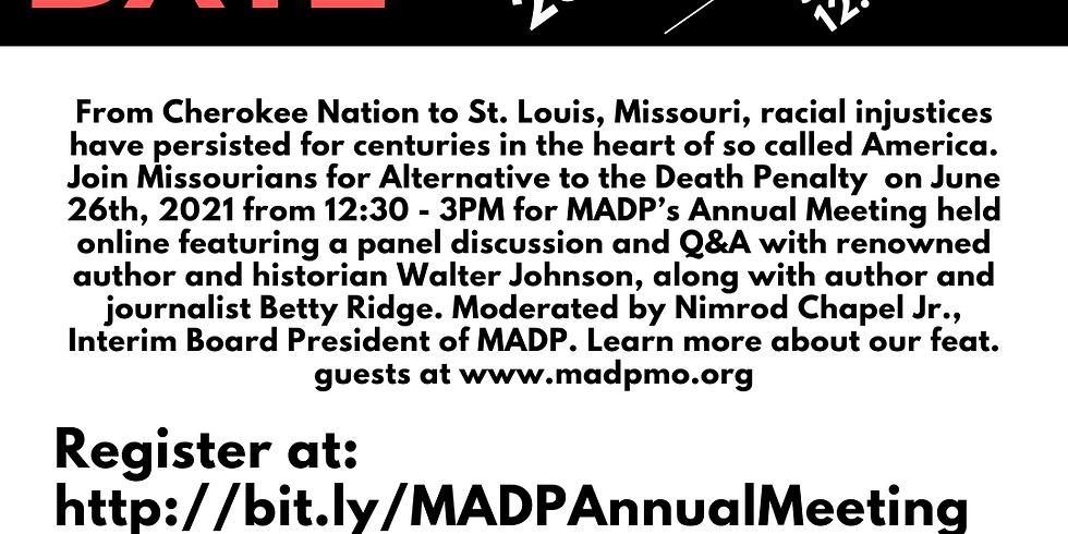 MADP 2021 Annual Meeting