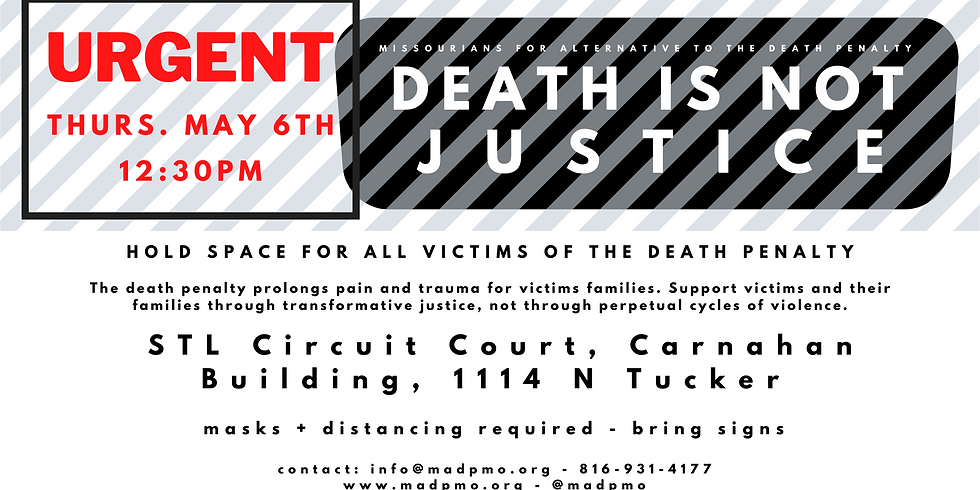 Death Is Not Justice Rally