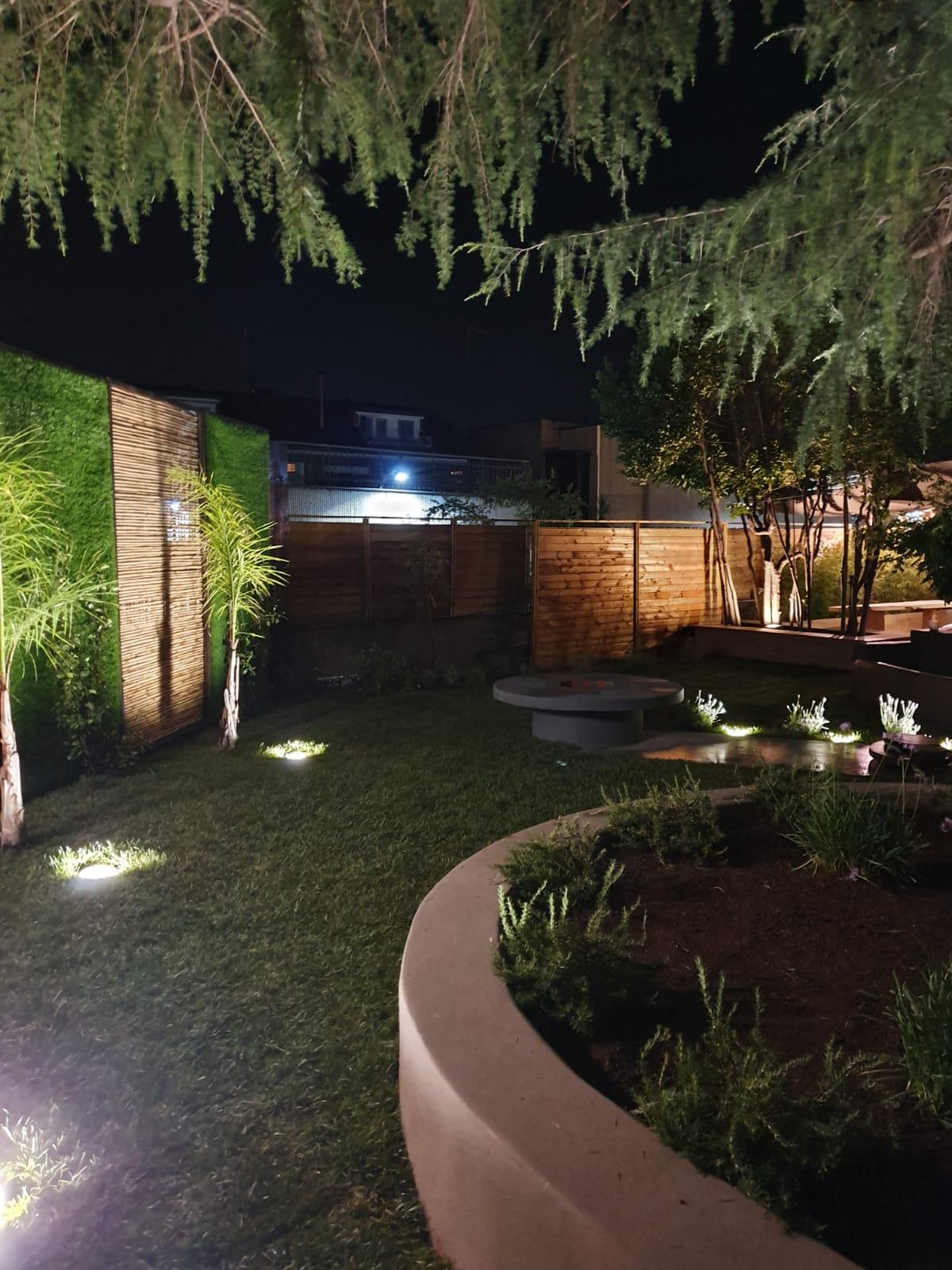 Scorcio del giardino di un AMICO