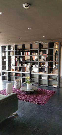 ZG7 Parete Libreria bifacciale laccata Clever