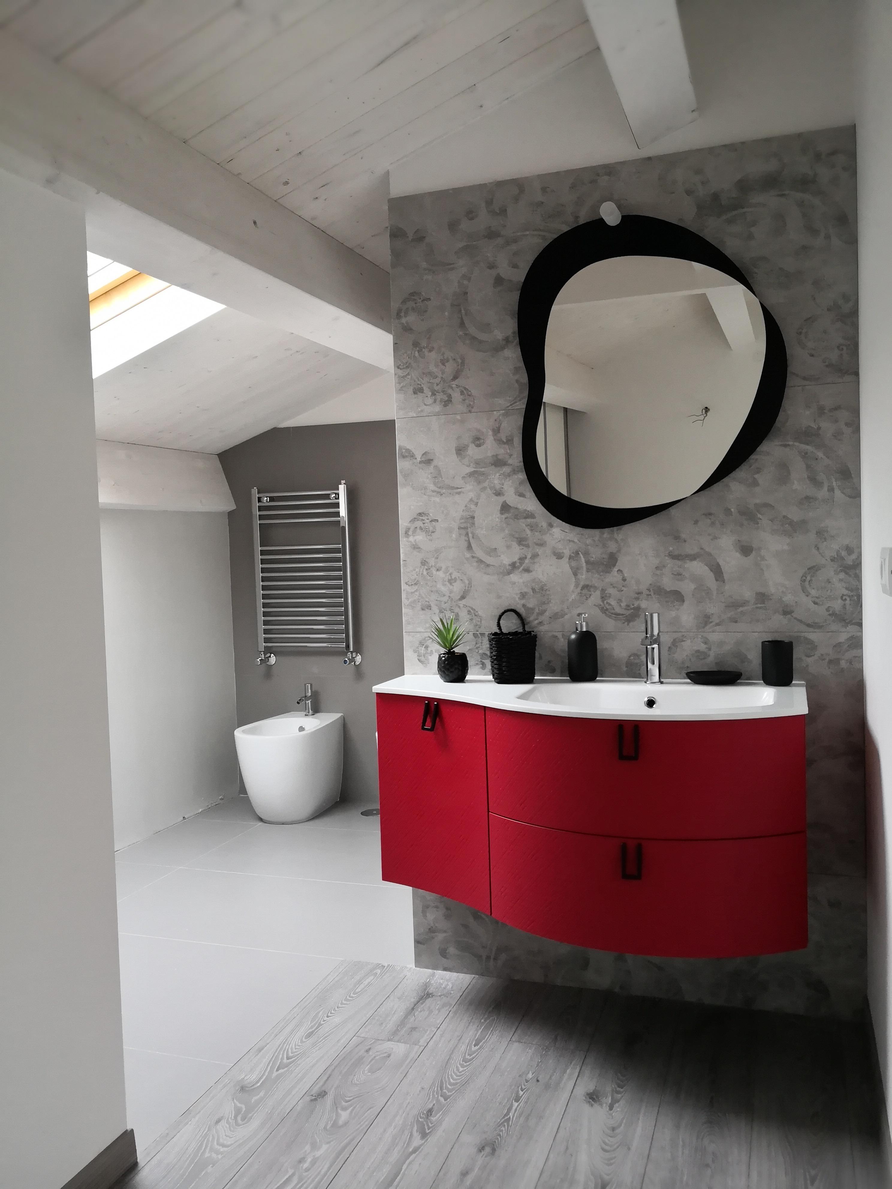 Il bagno in mansarda