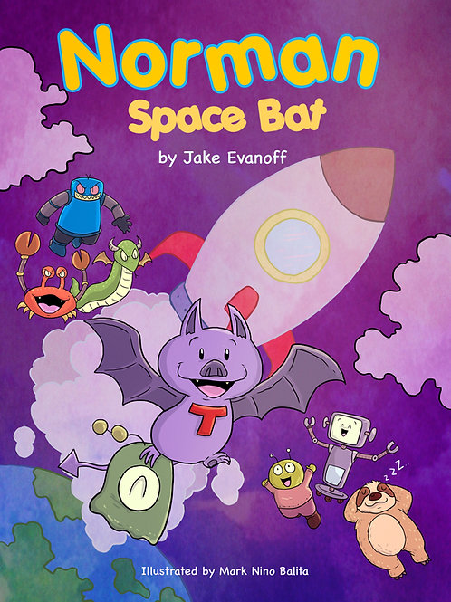 Norman Space Bat - Paperback