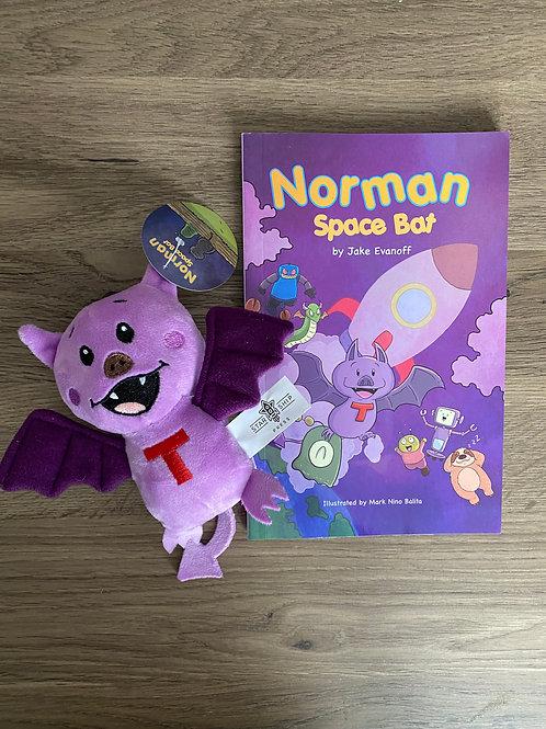 Norman Space Bat + Plushie