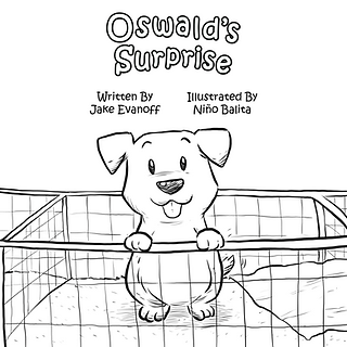 Oswald's Surprise Colouring Page