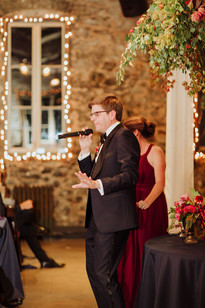 Miner's Foundry Wedding Reception