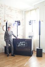 DJ Set Up at the Holbrooke