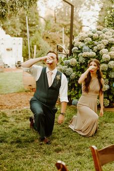 Best Man and Maid of Honor formal introduction