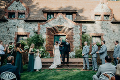 Wedding Ceremony at Empire Mine State Park