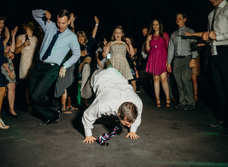 Breakdancers at your Wedding?