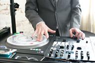 I'm a DJ. I still might use records and scratch a tiny bit