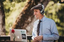 Me DJ'ing at Cielo Estate Winery in Shingle Springs, CA.