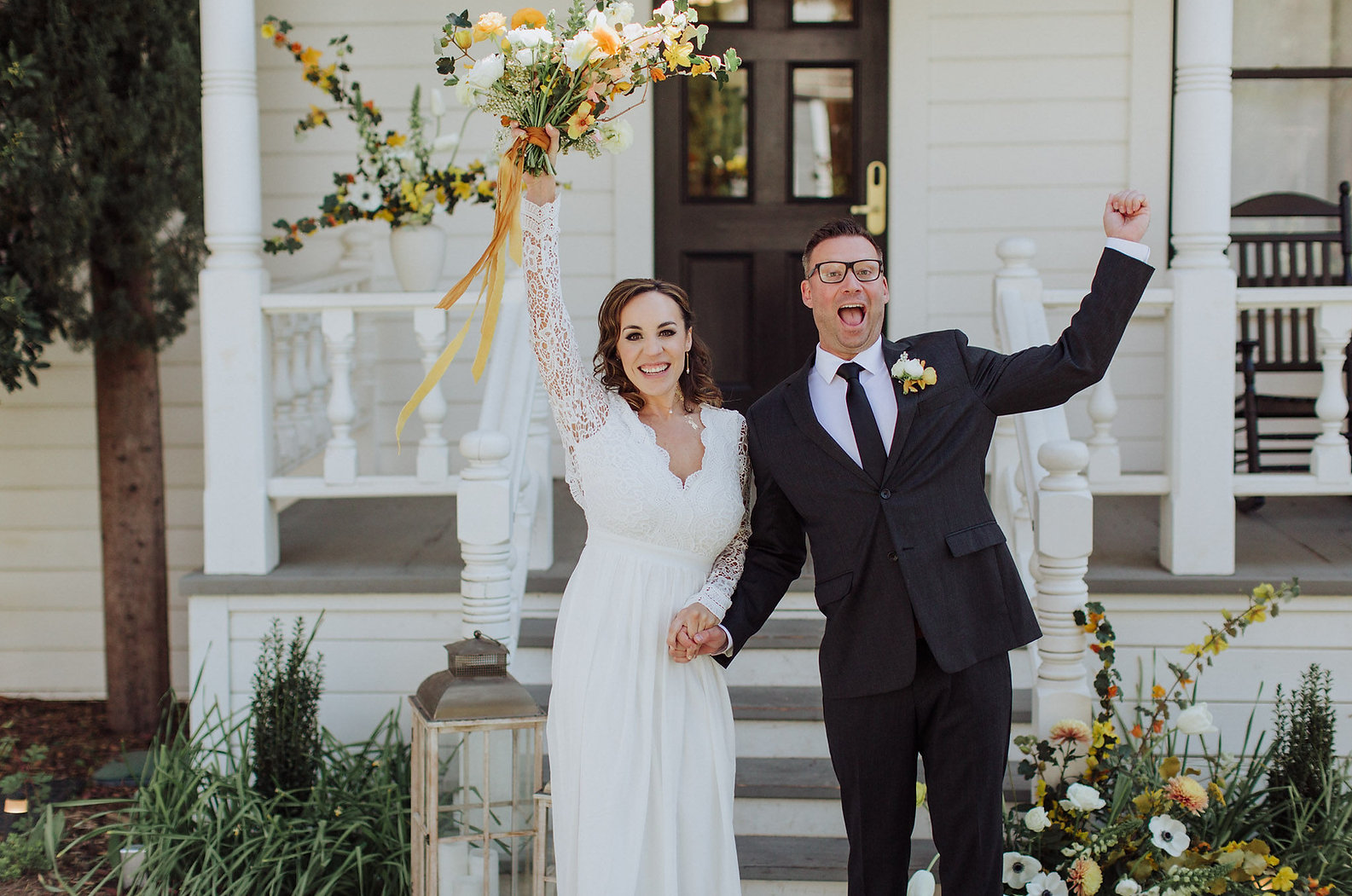 Wedding at the Holbrooke Hotel in Grass Valley