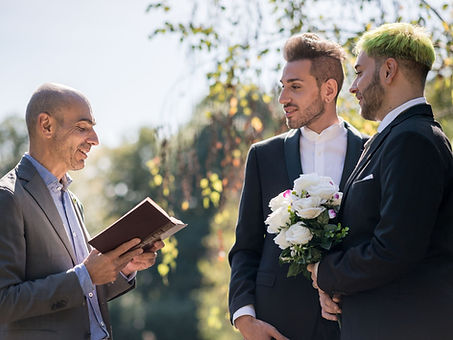 Same Sex Wedding Grass Valley