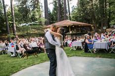 Wedding First Dance at Schrammsberg Estate