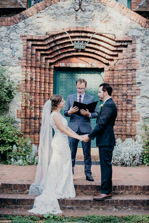 Empire Mine State Park Wedding Ceremony