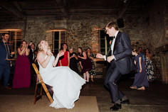 Wedding Reception at the Miner's Foundry in Nevada City, CA.