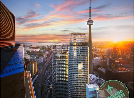 La CN Tower, símbolo de la ciudad de Toronto