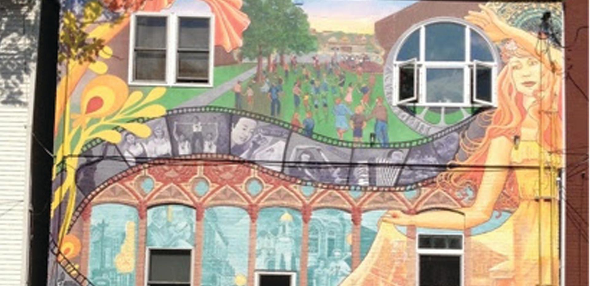 Bohemian Mural