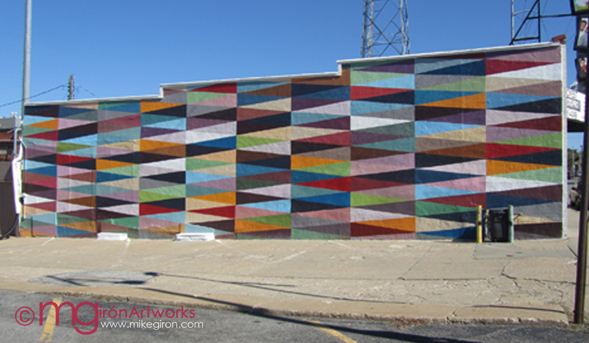 the Triangulation mural