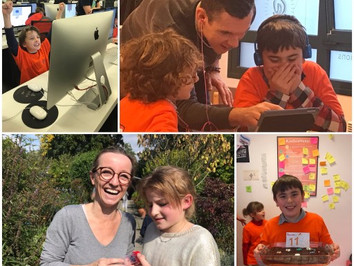 Newsletter #2 - At Hub School 21,the school of the future starts today ! - December 2017