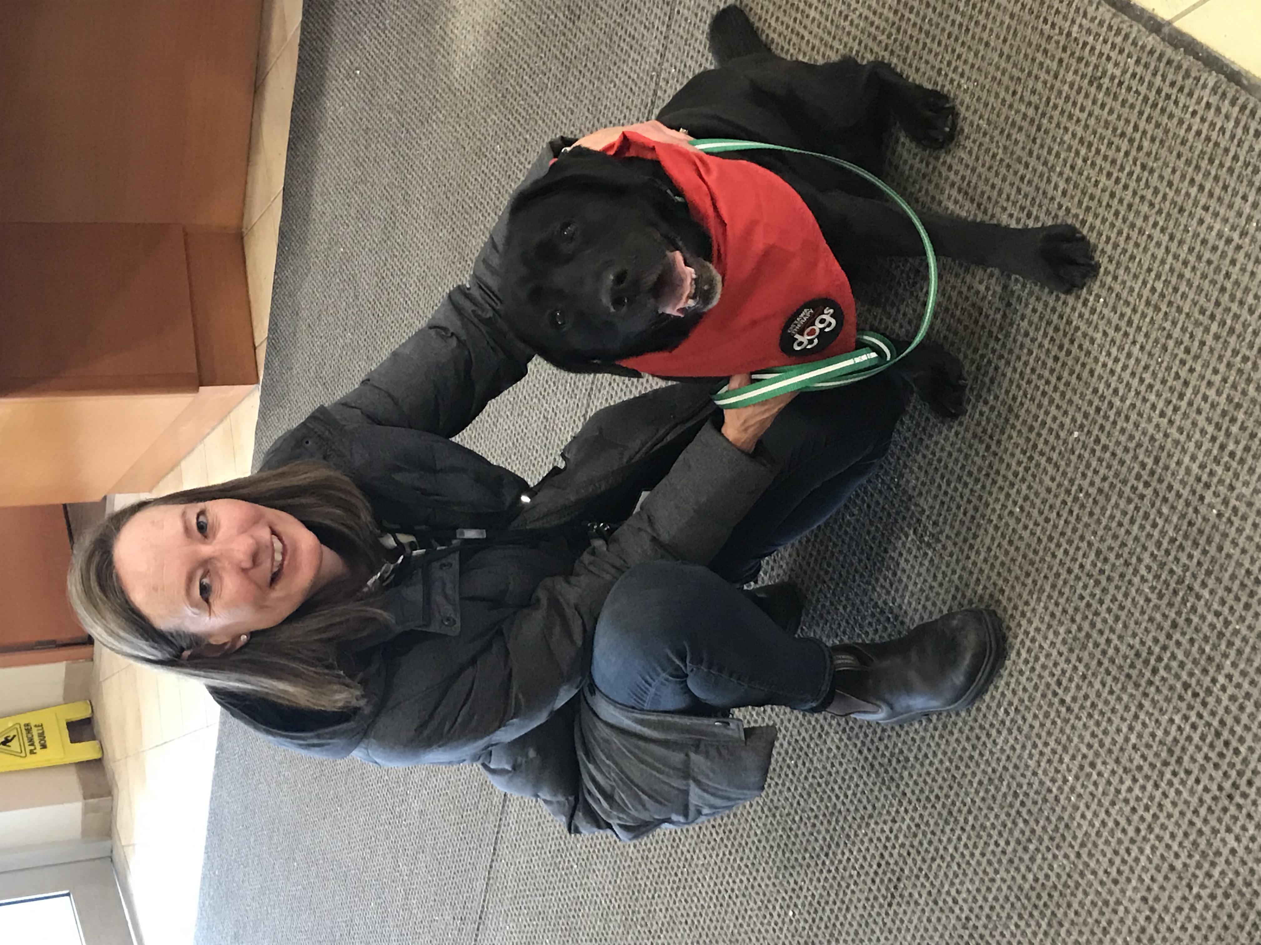 Sheryl & Lucy (Labrador)