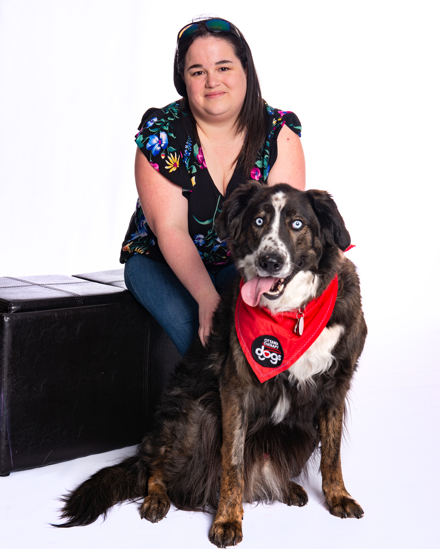 Mireille & Loki (Australian Shepherd X)