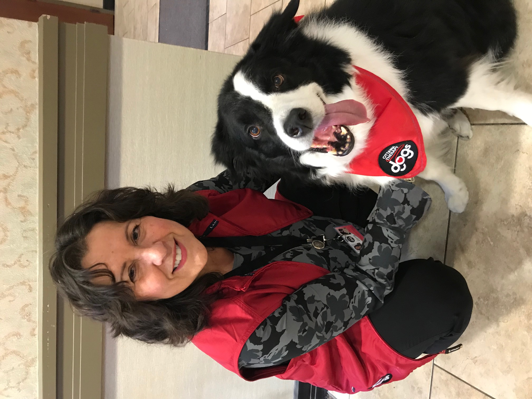 Louise & Dash (Border Collie)