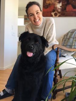 Marie-Christine & Pablo (Retriever Rottweiler X)