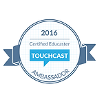 2016 Certified Educator Touchcadt Ambassador