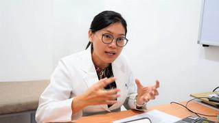 凌诗芃医师在南洋商报,受采访关于肾脏病的治疗和预防.