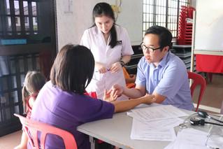 双溪比利义诊 Free Medical Consultation at Sungai Pelek.