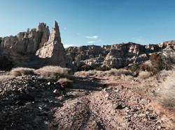 Plaza Blanca, New Mexico
