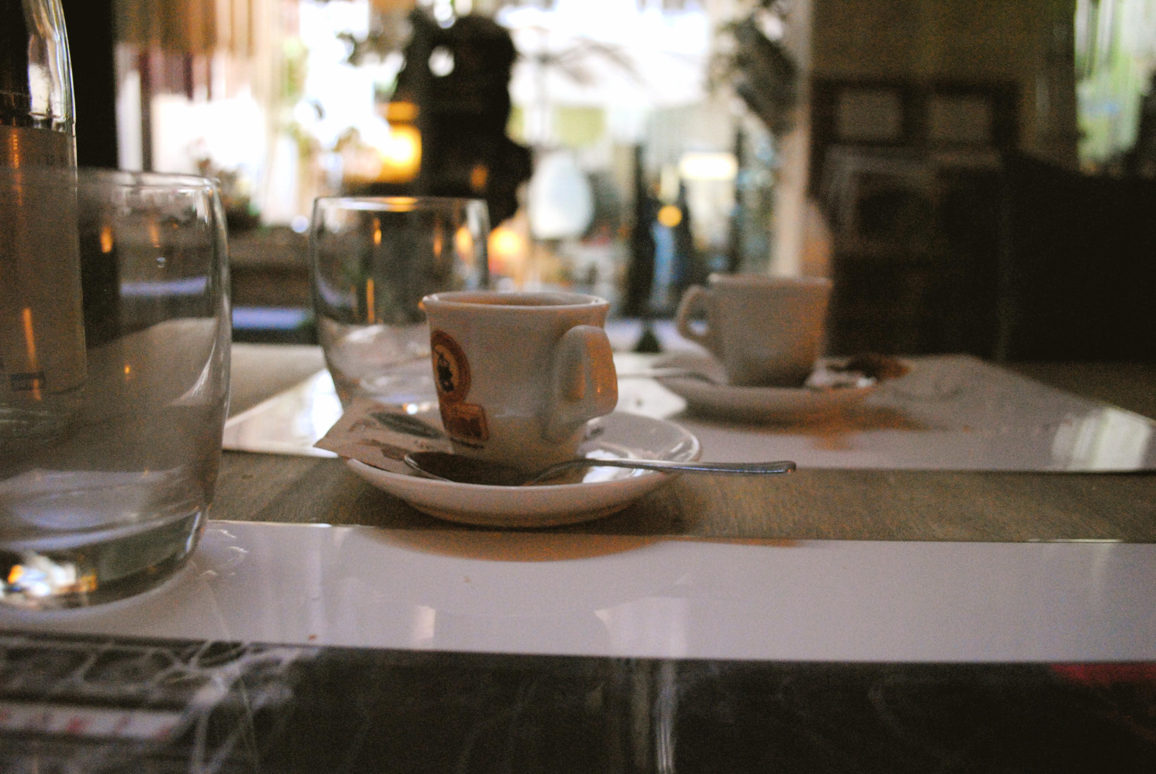 Espresso. Florence, Italy.
