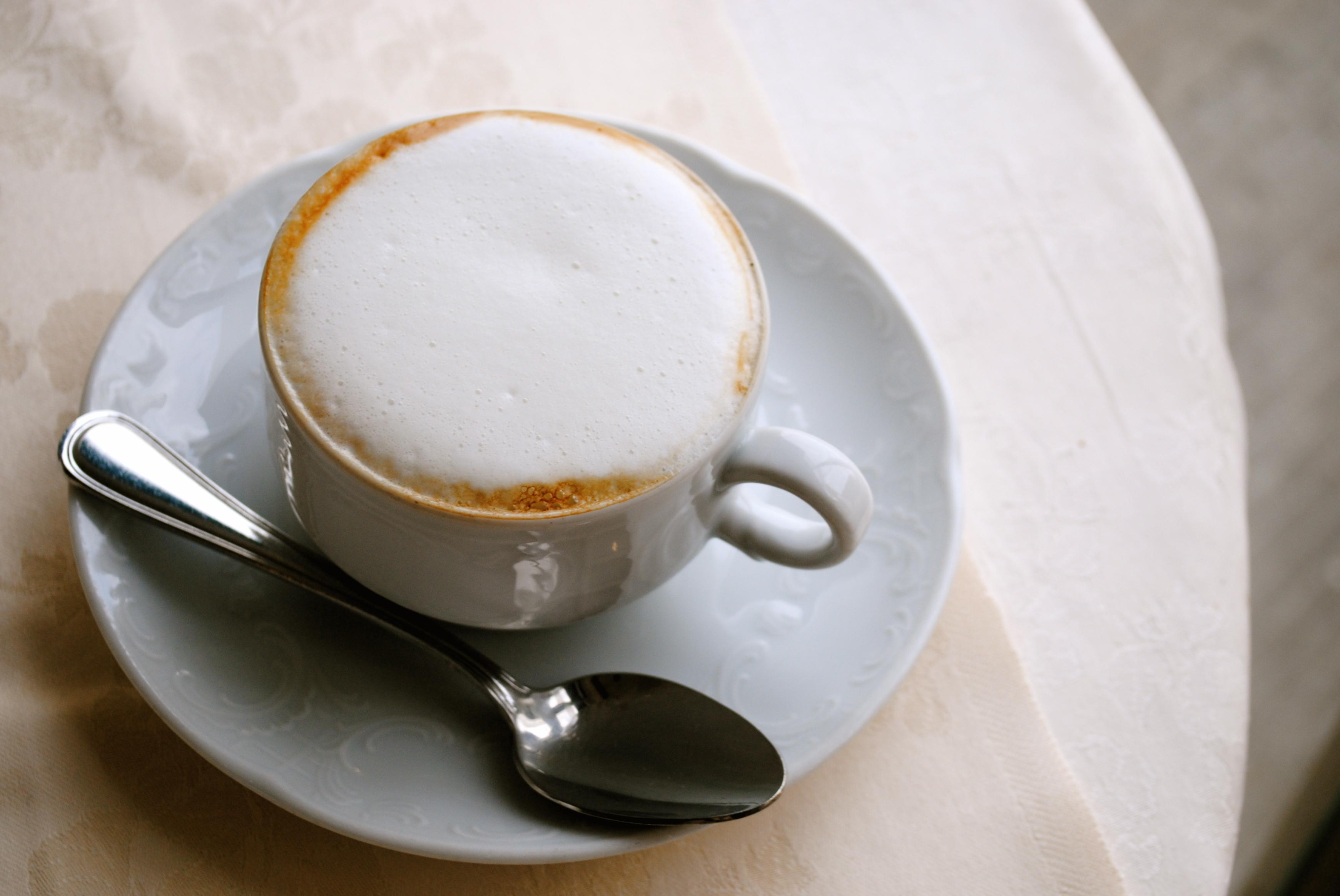 Cappuccino. Rome, Italy.